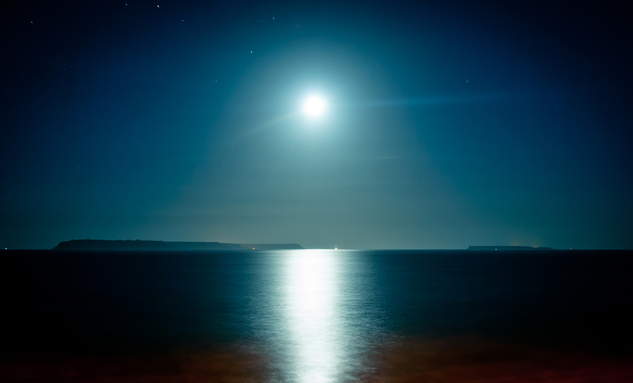 Photo: Moon on the Water