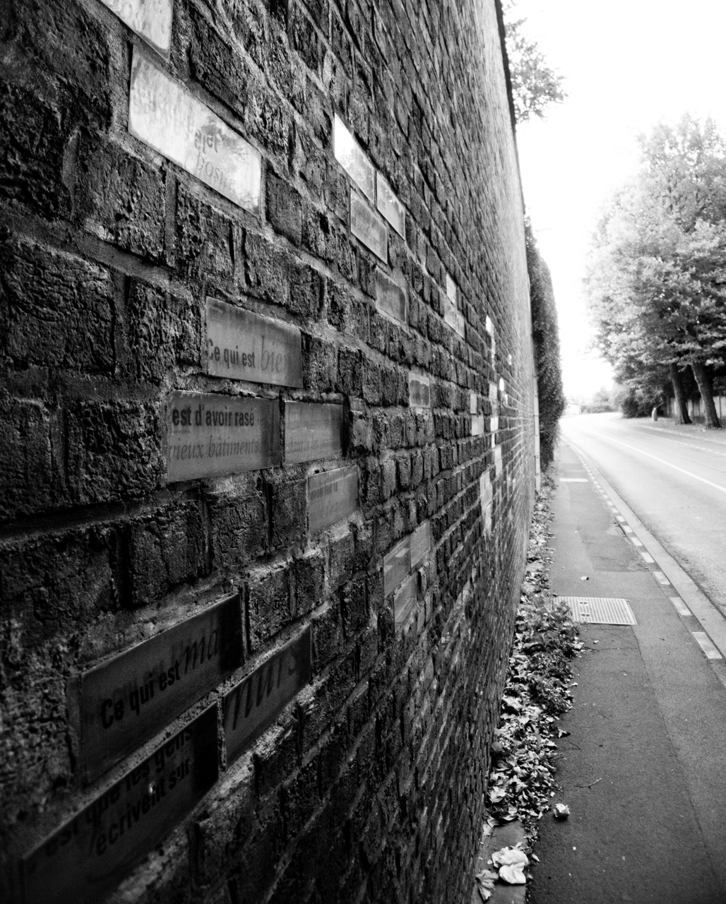 Photo: Another Brick in the Wall